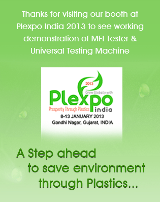 We are participating in Plexpo 2013